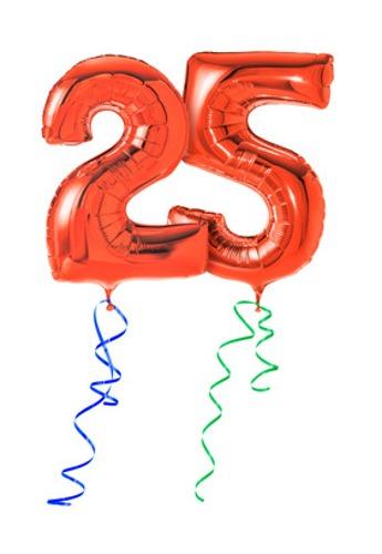 fødselsdag 25 år